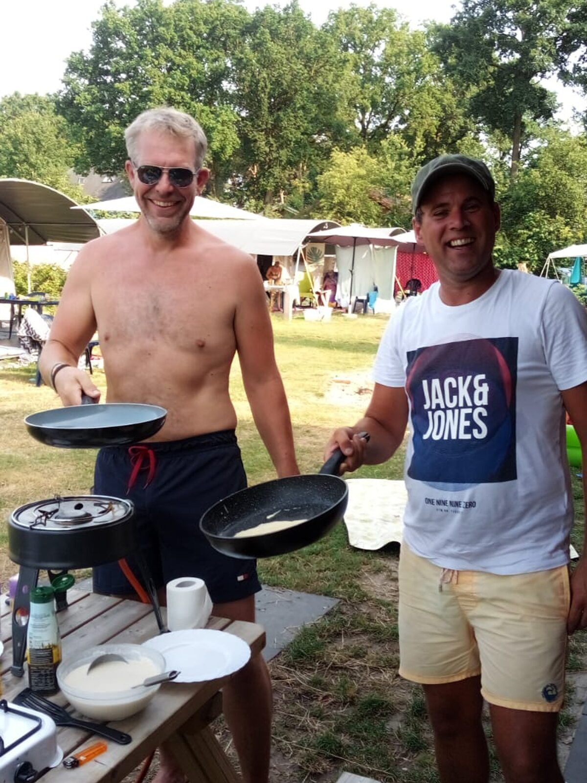 Samen koken tijdens de vakantie op De Boshoek