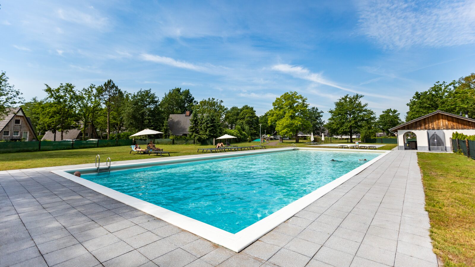 Holiday park Twente with swimming pool