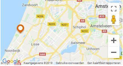 Ligging Recreatiepark Noordwijkse Duinen