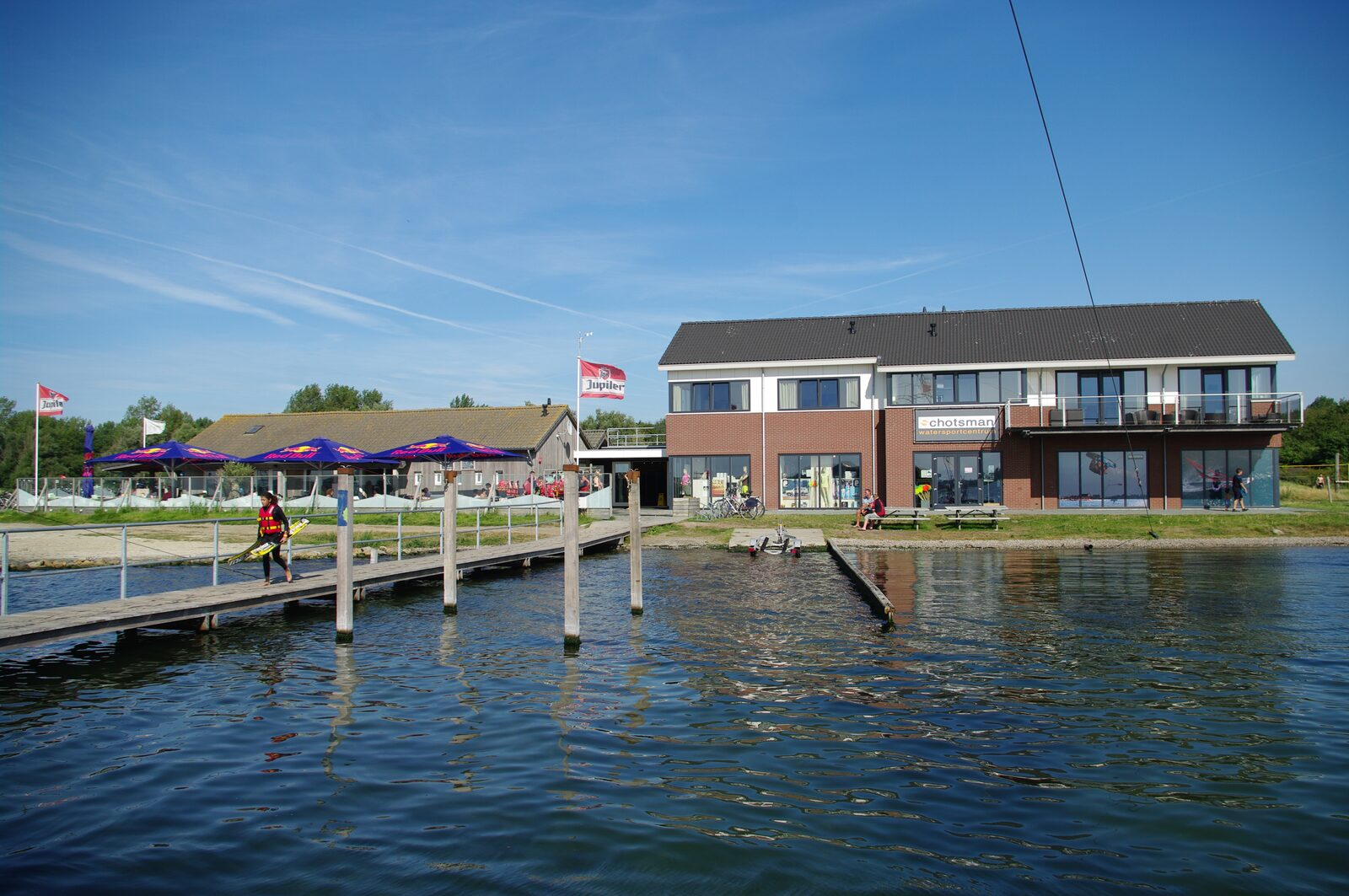 Schotsman watersport along the Veerse meer in Zeeland