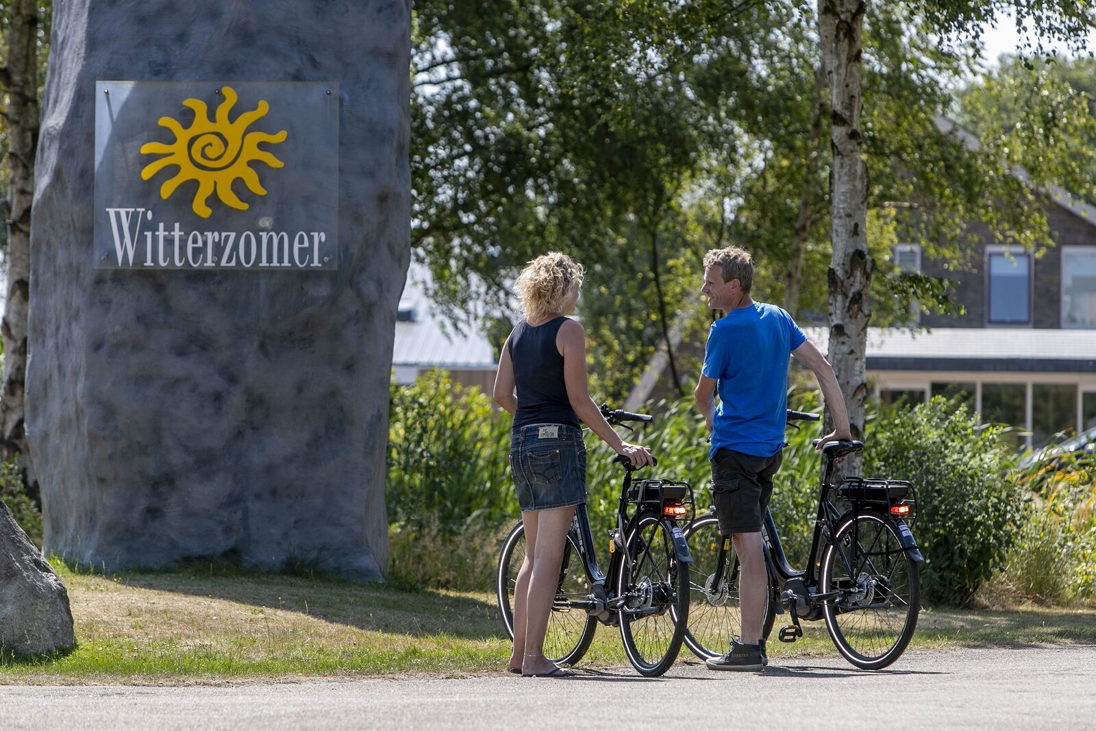 Bicycle and kart rental services Holiday Park Witterzomer