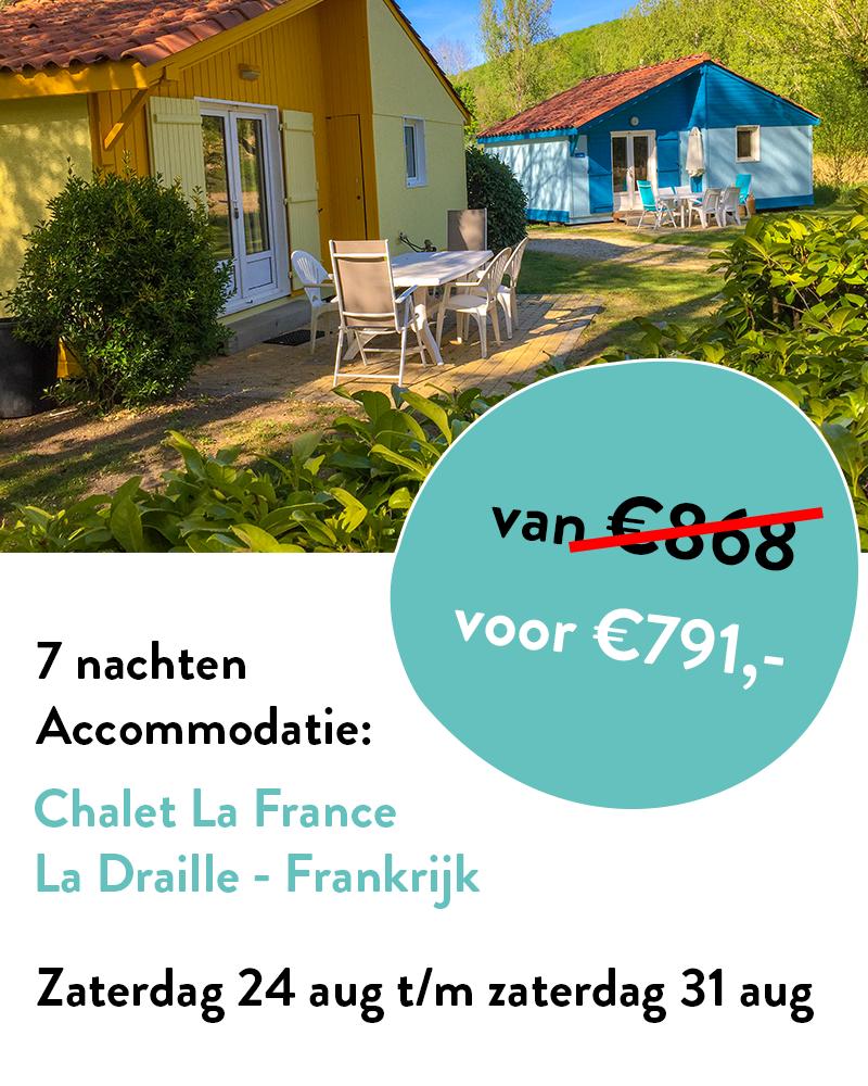Chalet La France aanbieding