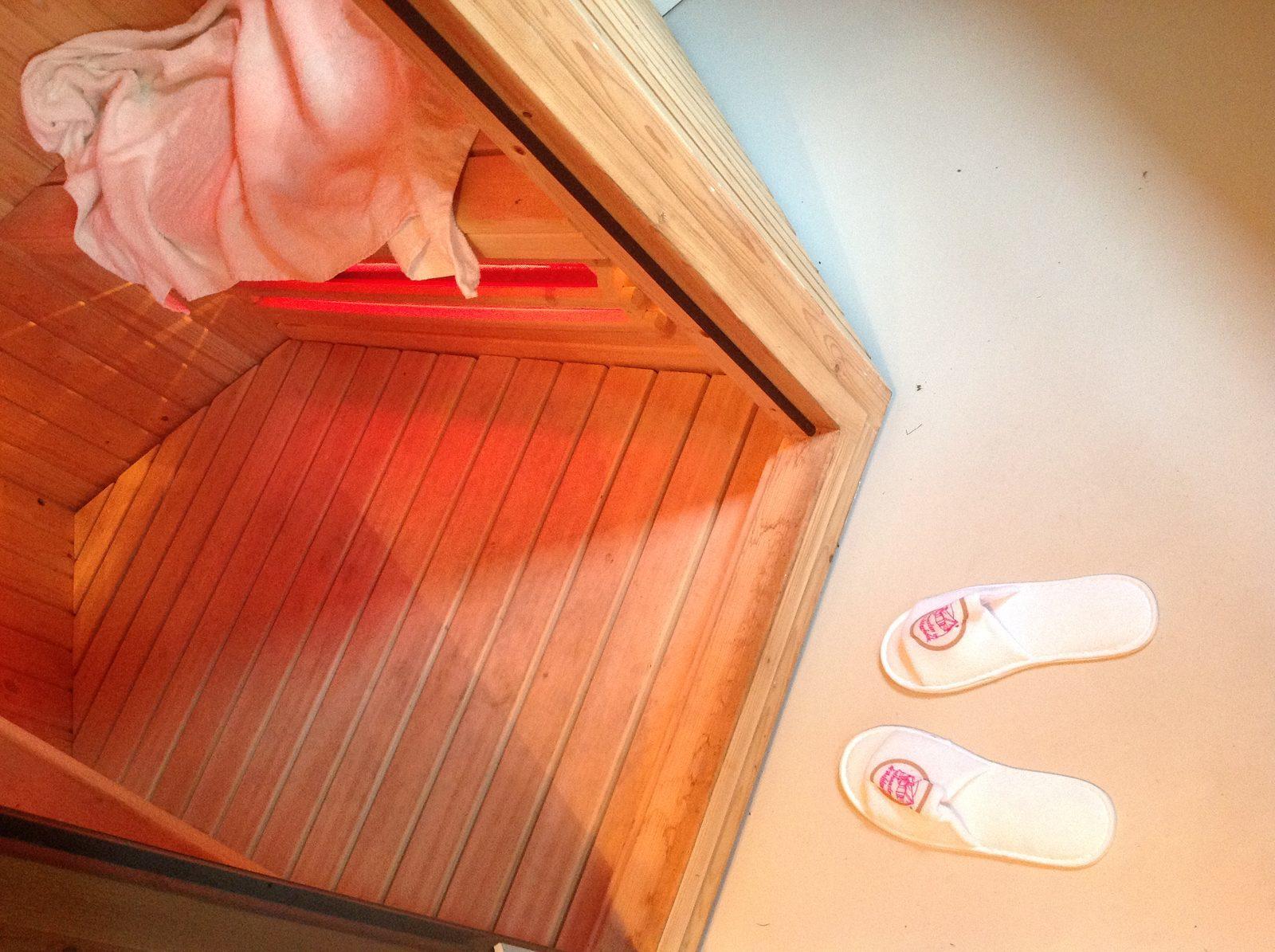 Infra red sauna the Tortelduif