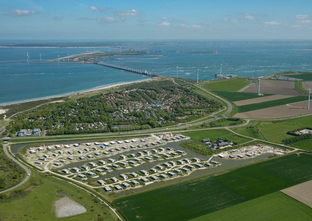Luchtfoto De Groote Duynen