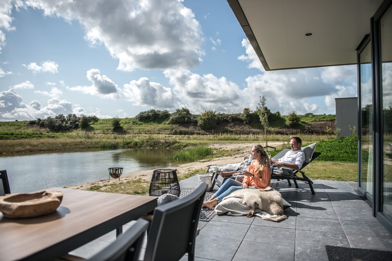 Luxury holiday homes De Groote Duynen in Zeeland
