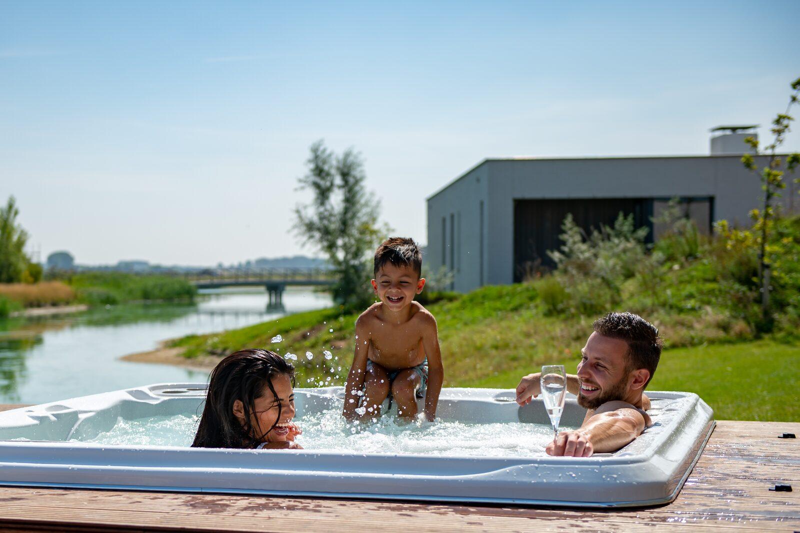 Luxus-Ferienhäuser mit Jacuzzi Zeeland mit am Meer