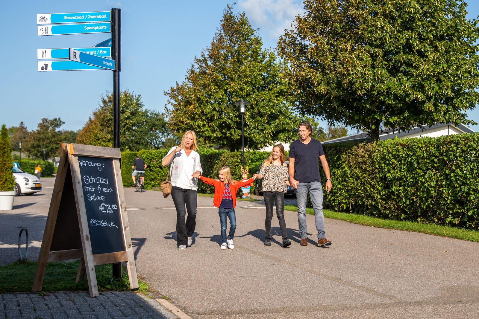 Karte Des Parks Recreatiepark De Woudhoeve