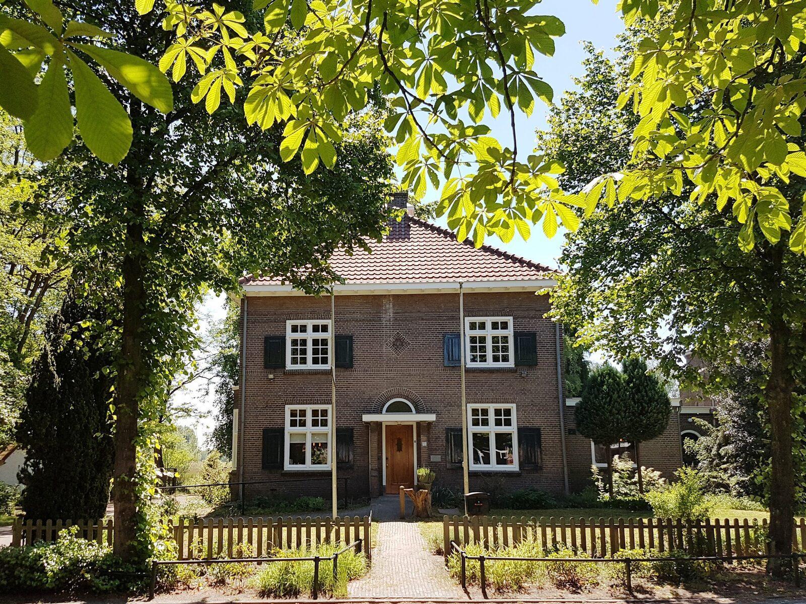Vakantiehuis de Pastoorswoning in Brabant, vanuit huis kun je het Dommelpad lopen