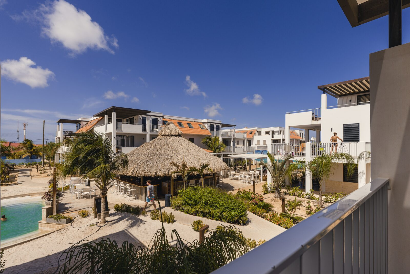 Luxury resort at Bonaire