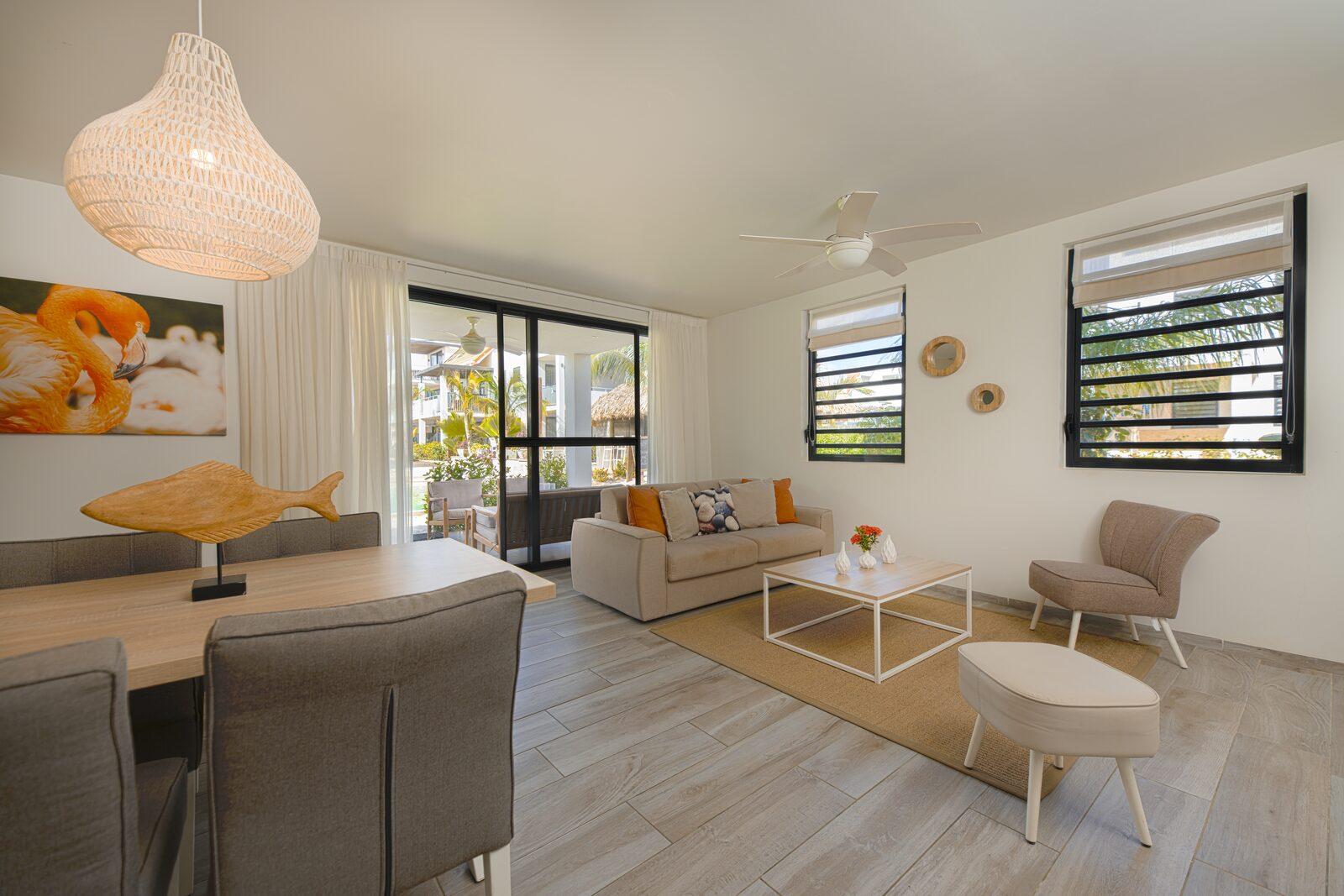 Suchen Sie nach einer Ferienwohnung auf Bonaire? Schauen Sie sich hier die verfügbaren Unterkünfte in unserem Resort an.