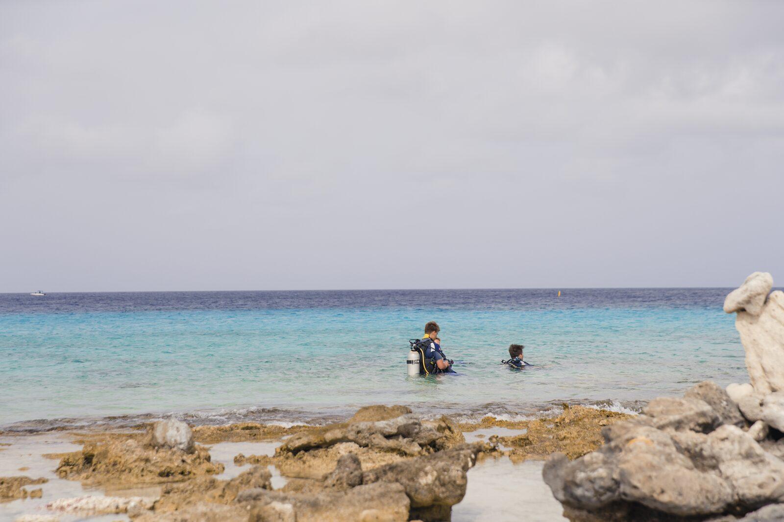Diving at Bonaire