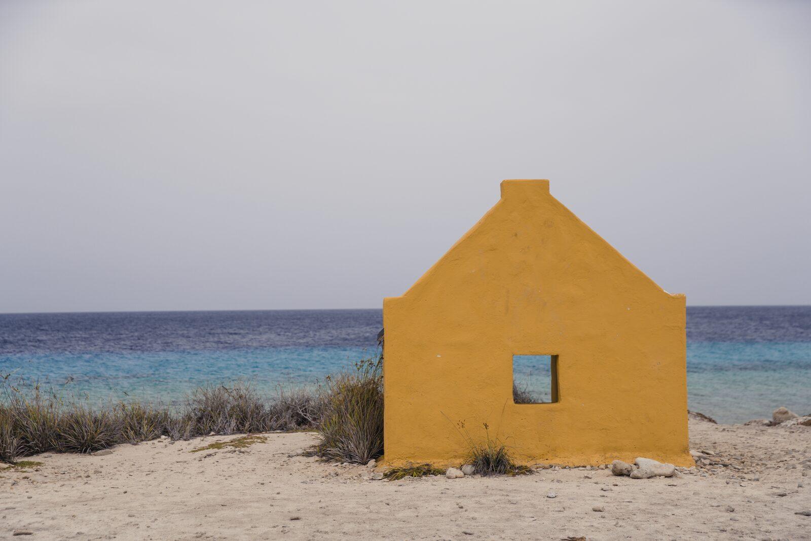 Cabanas de Escravos em Bonaire