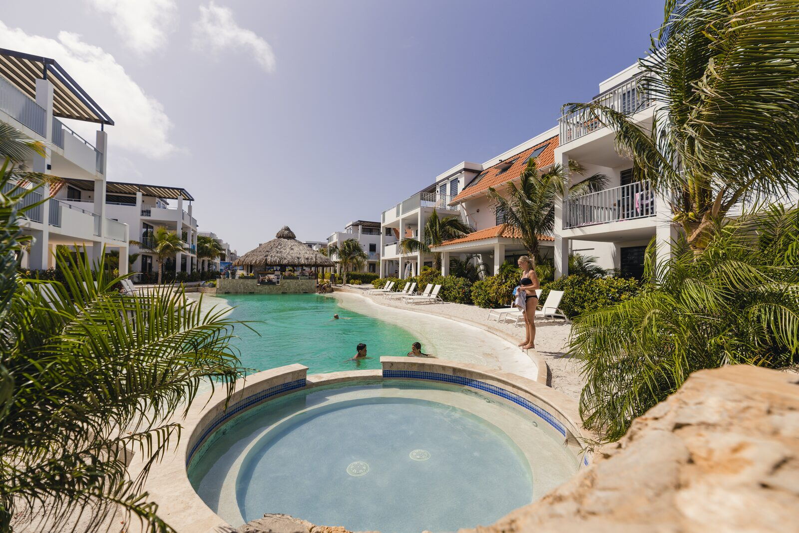 Piscina del Resort Bonaire