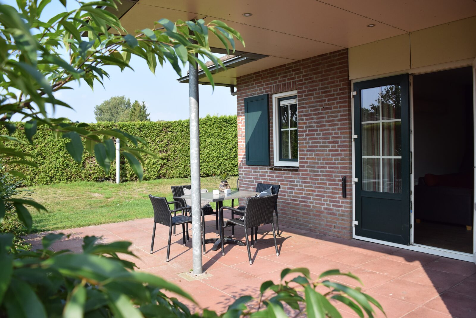 Holiday park with holiday home for 14 people