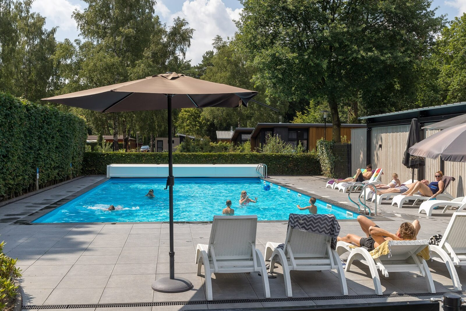 Holiday Resort Veluwe with a swimming pool