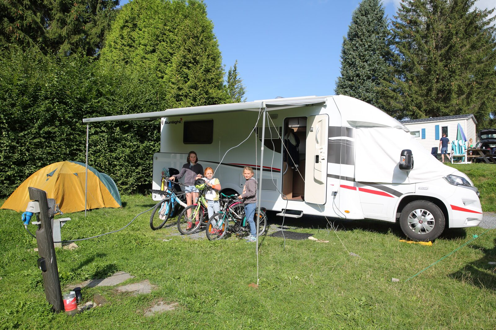 Goedkope camping Ardennen