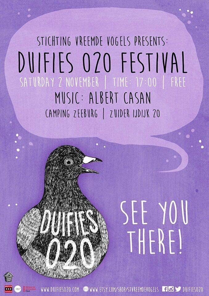 Duifies 020 festival: Albert Casan