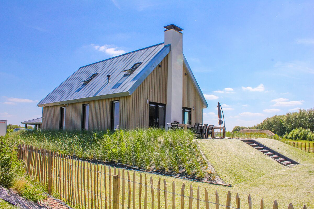 Grote vakantiehuizen Zeeland
