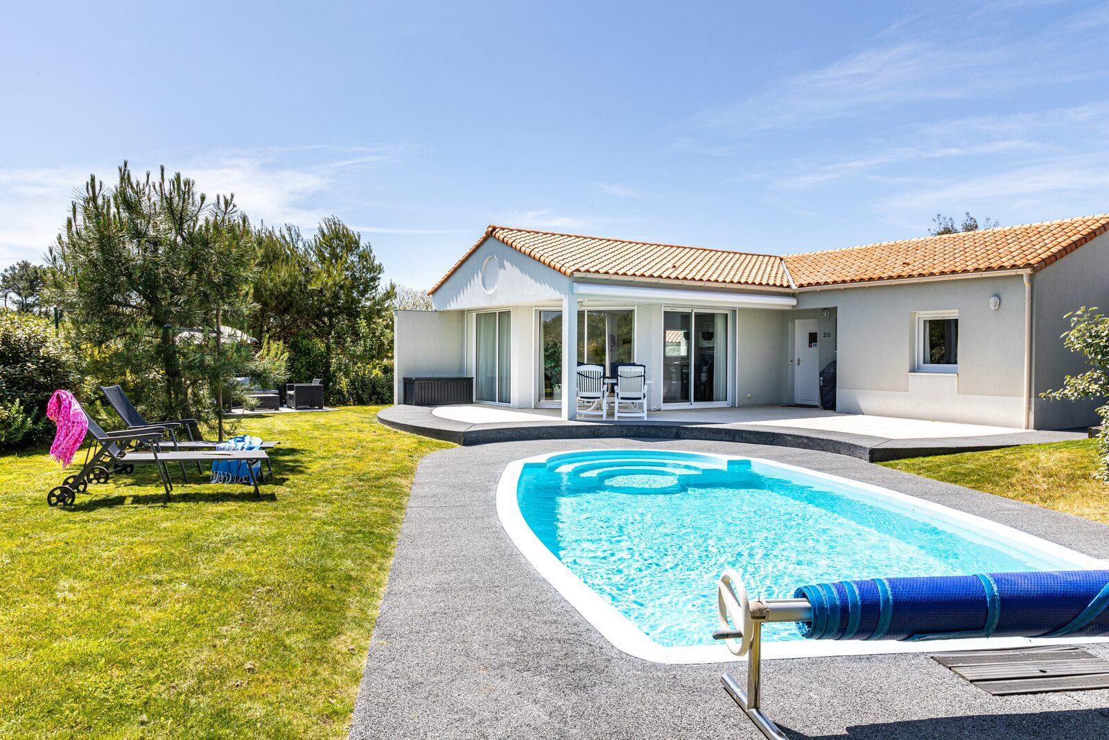villa piscine privée pour offre basse saison