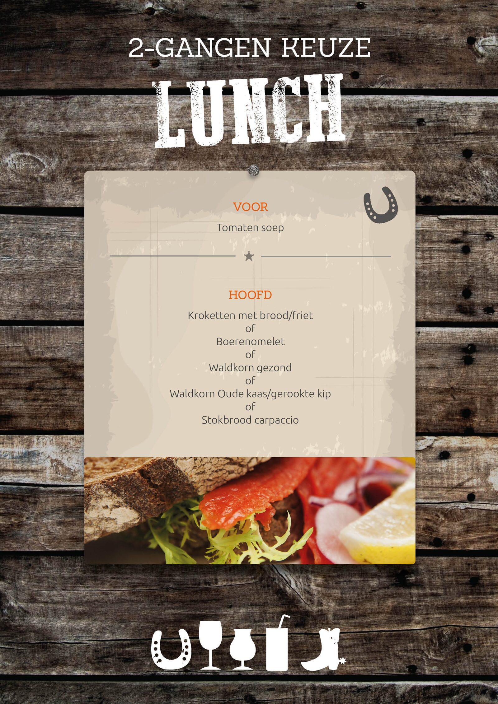 Lunch/Brunch bij Recreatiepark De Boshoek in Voorthuizen