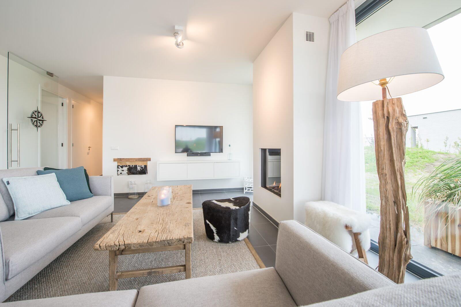 Luxe vakantiehuis met sauna zandbank 23 de groote duynen