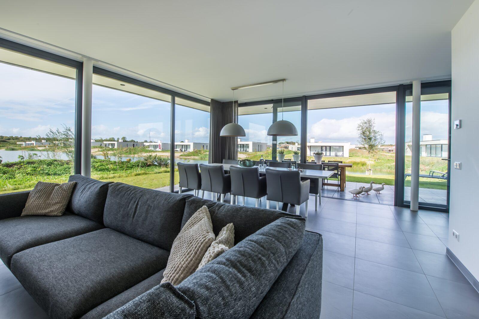 Luxus-Ferienhaus zeeland waterlijn 15 de groote duynen
