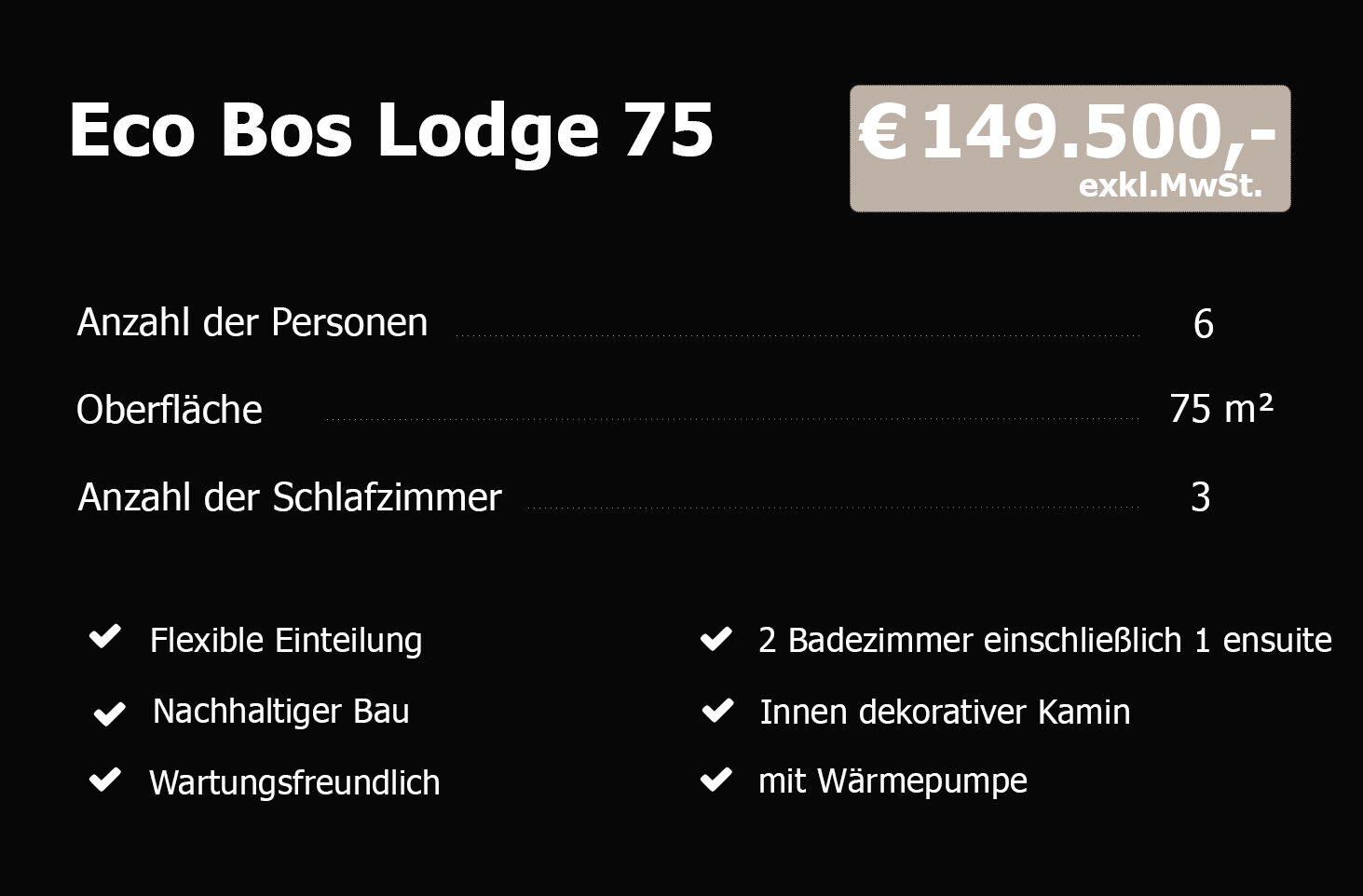 Eco Bos Lodge 75