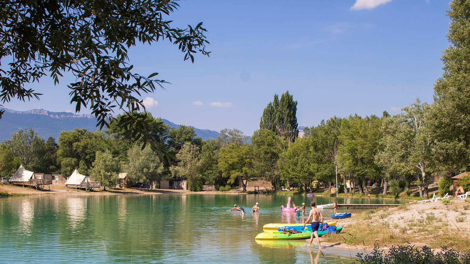 Camping - Le Lac Bleu
