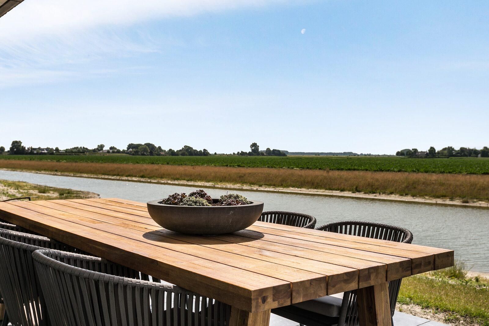 Luxus-Ferienhaus am Wasser waterlijn 38 de groote duynen
