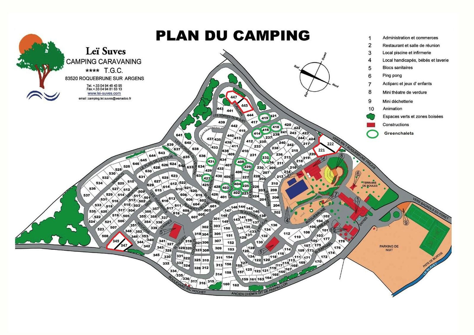 Map Leï Suves