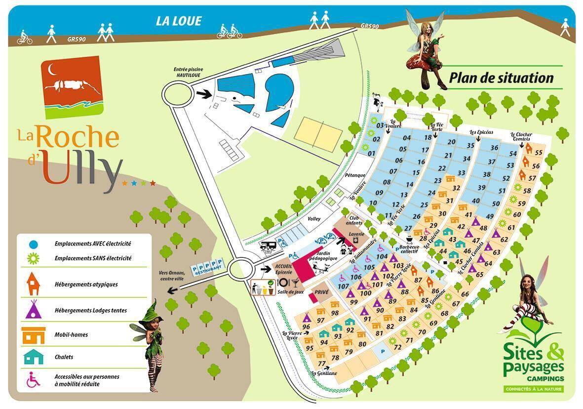 Plattegrond La Roche d'Ully