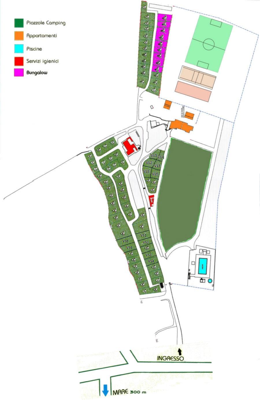 Plattegrond Casa dei Prati
