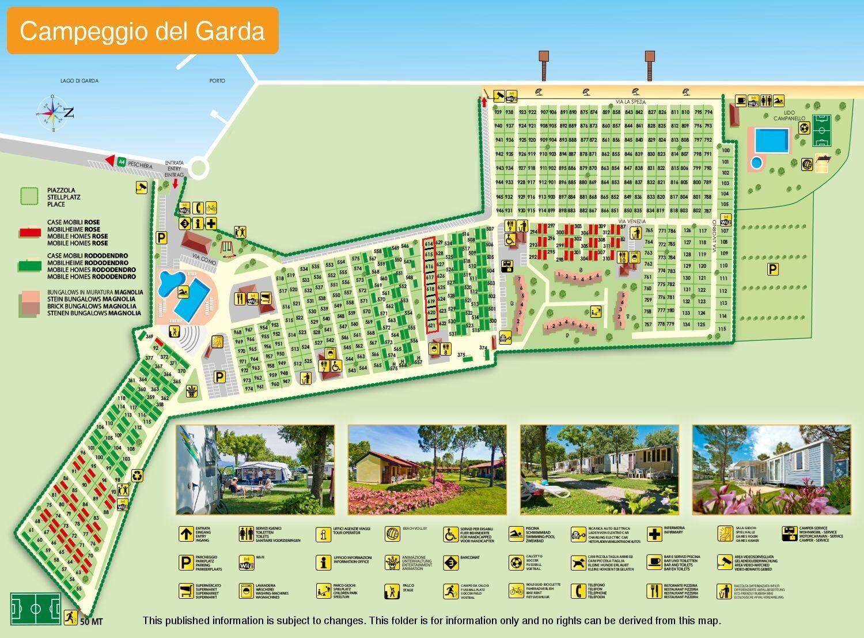 Map Campeggio del Garda