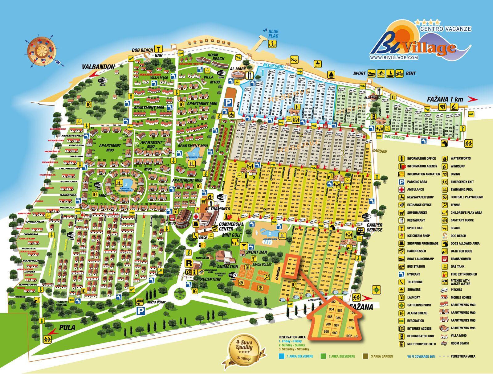 Map Bi Village