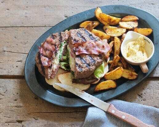 Recept: gevulde hamburger