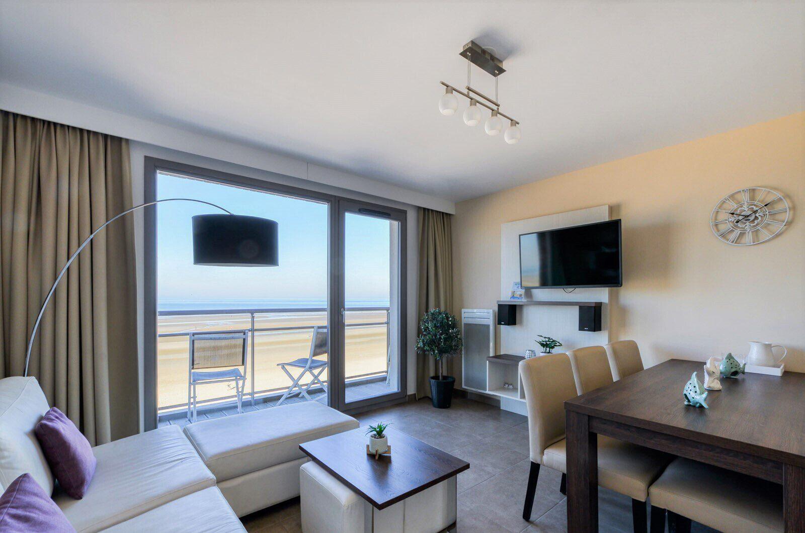 Appartements tout confort jusqu'à 6 personnes avec vue mer