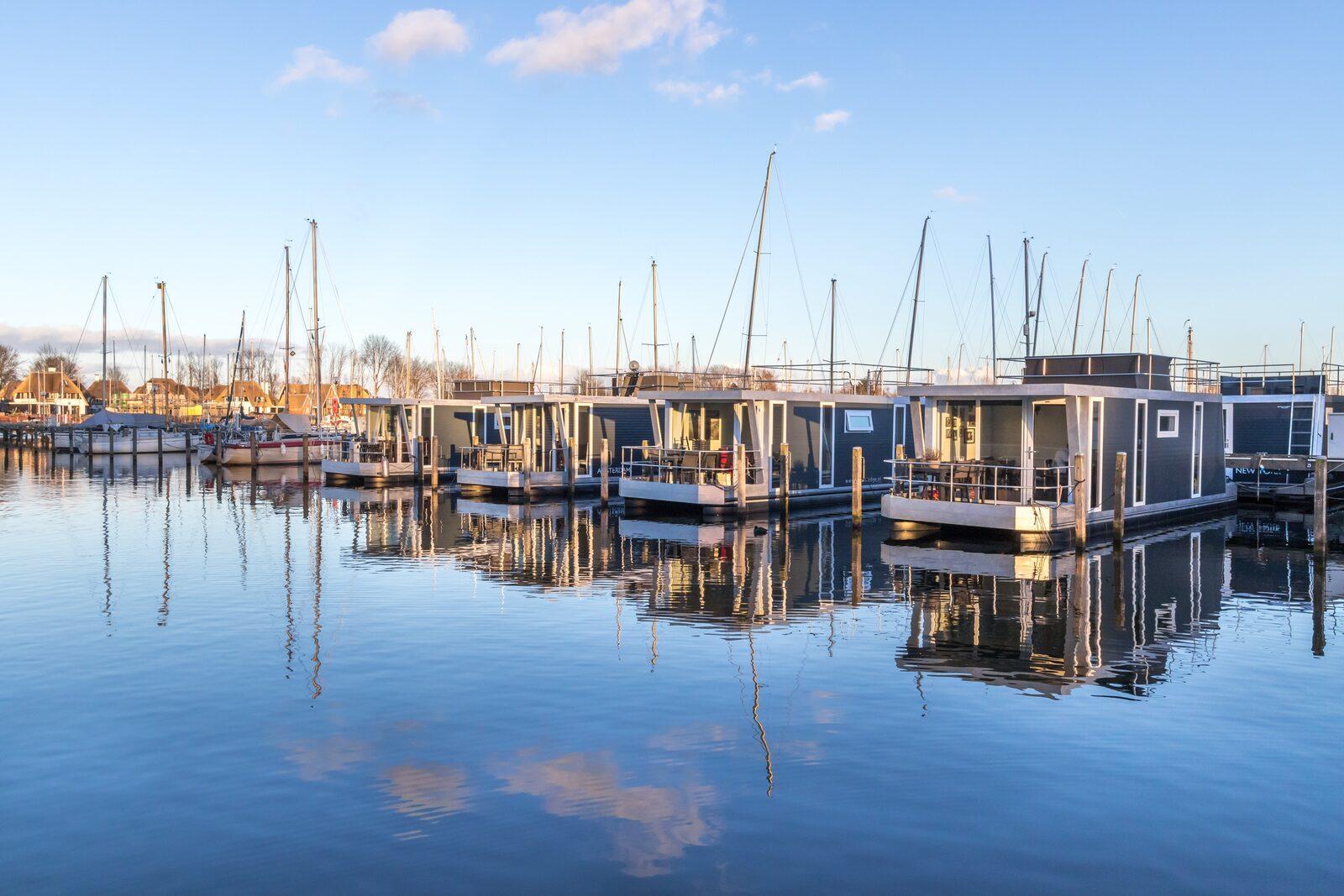Hafenlodges Zeeland Veerse Meer für 4 Personen
