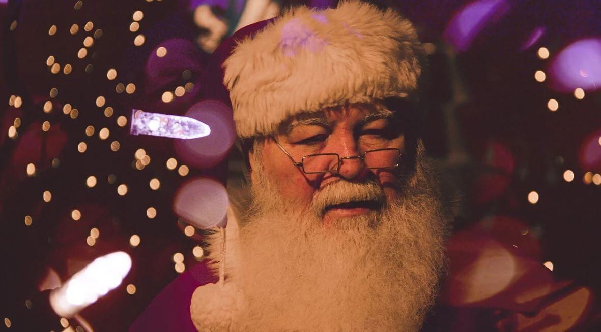 Le Père Noël à la Chapelle d'Abondance !