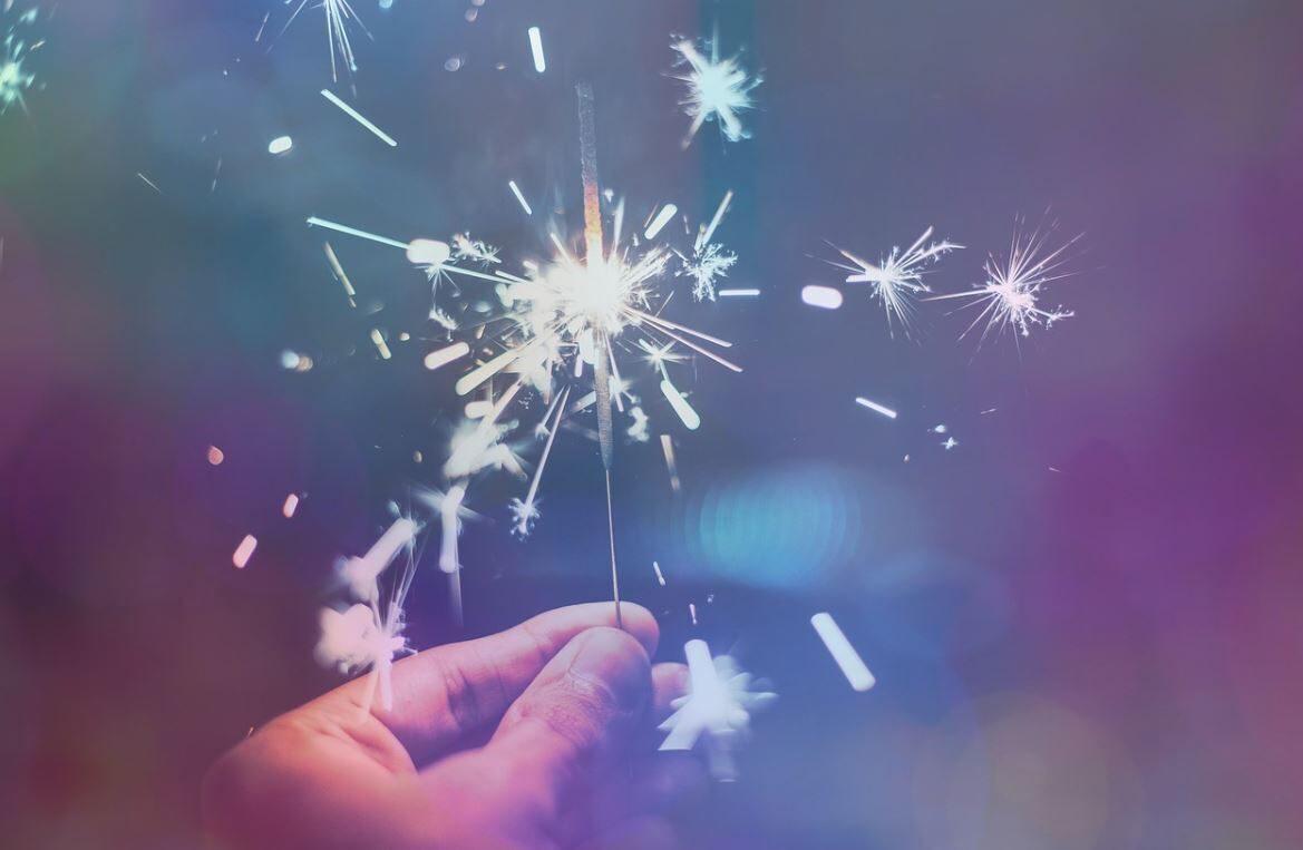 La descente aux flambeaux du Nouvel An à La Chapelle d'Abondance