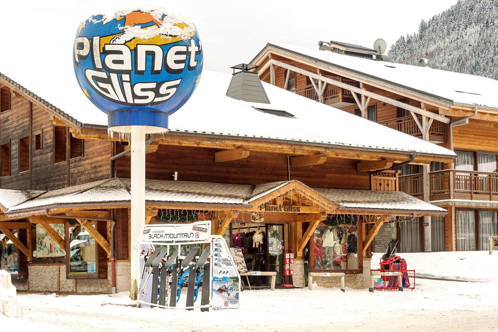 Location de matériel de ski à la Chapelle d'Abondance