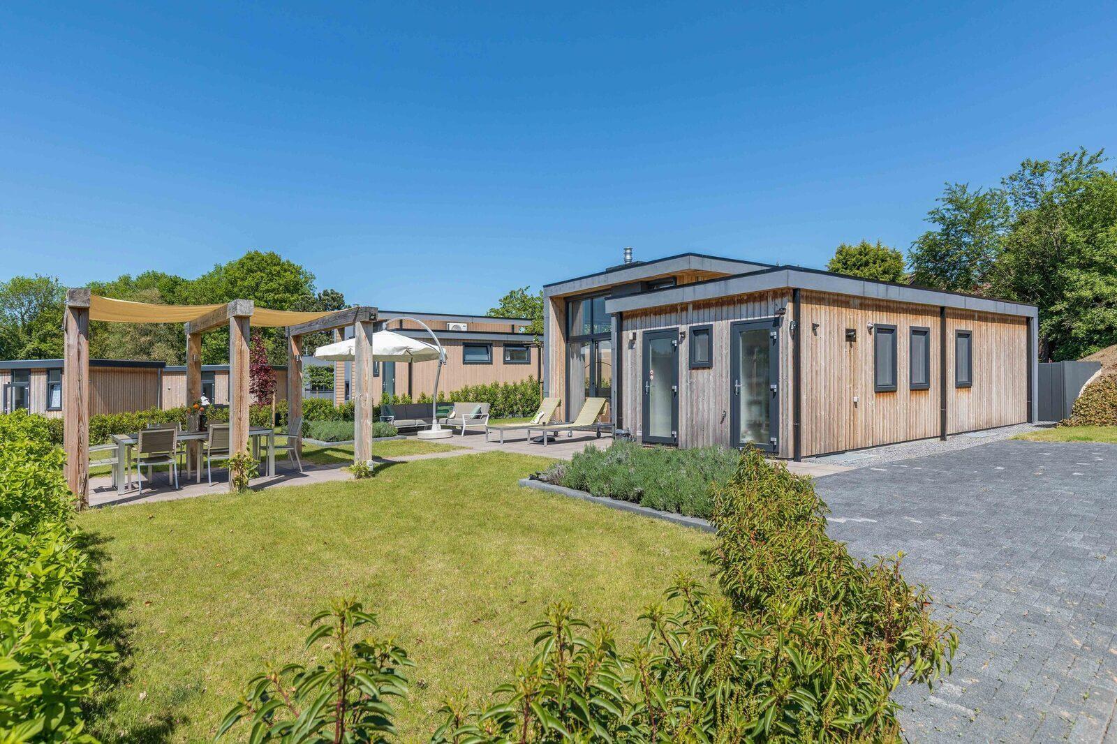 Maison de vacances avec un jardin clôturé