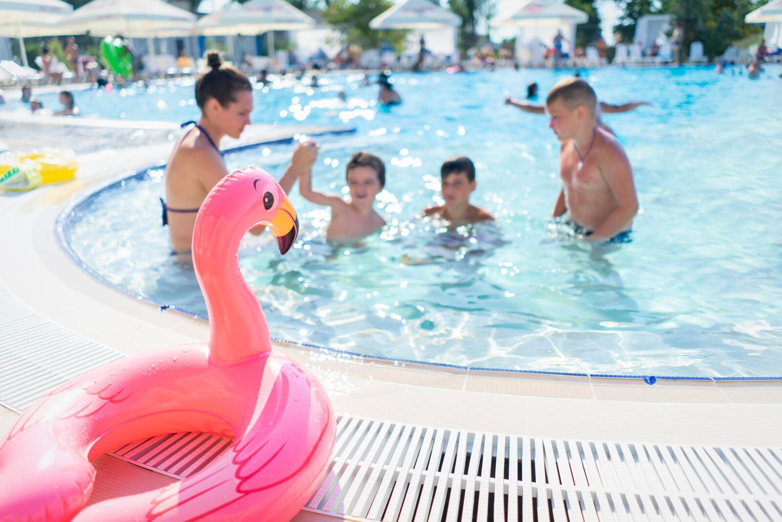 Kindvriendelijke vakantie zwemmen roompot