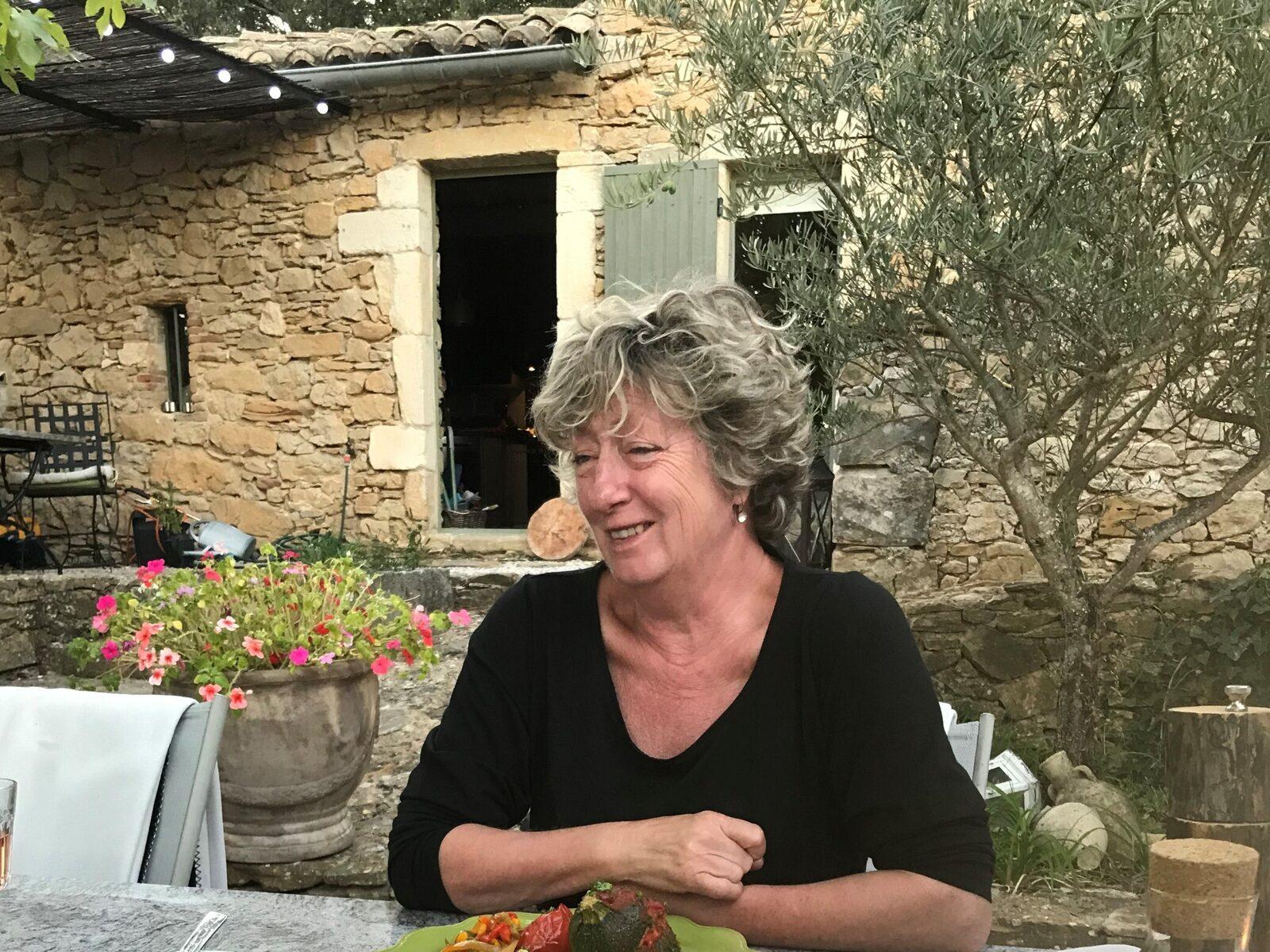 Eigenaresse van le Paradis in de Zuid-Franse Gard