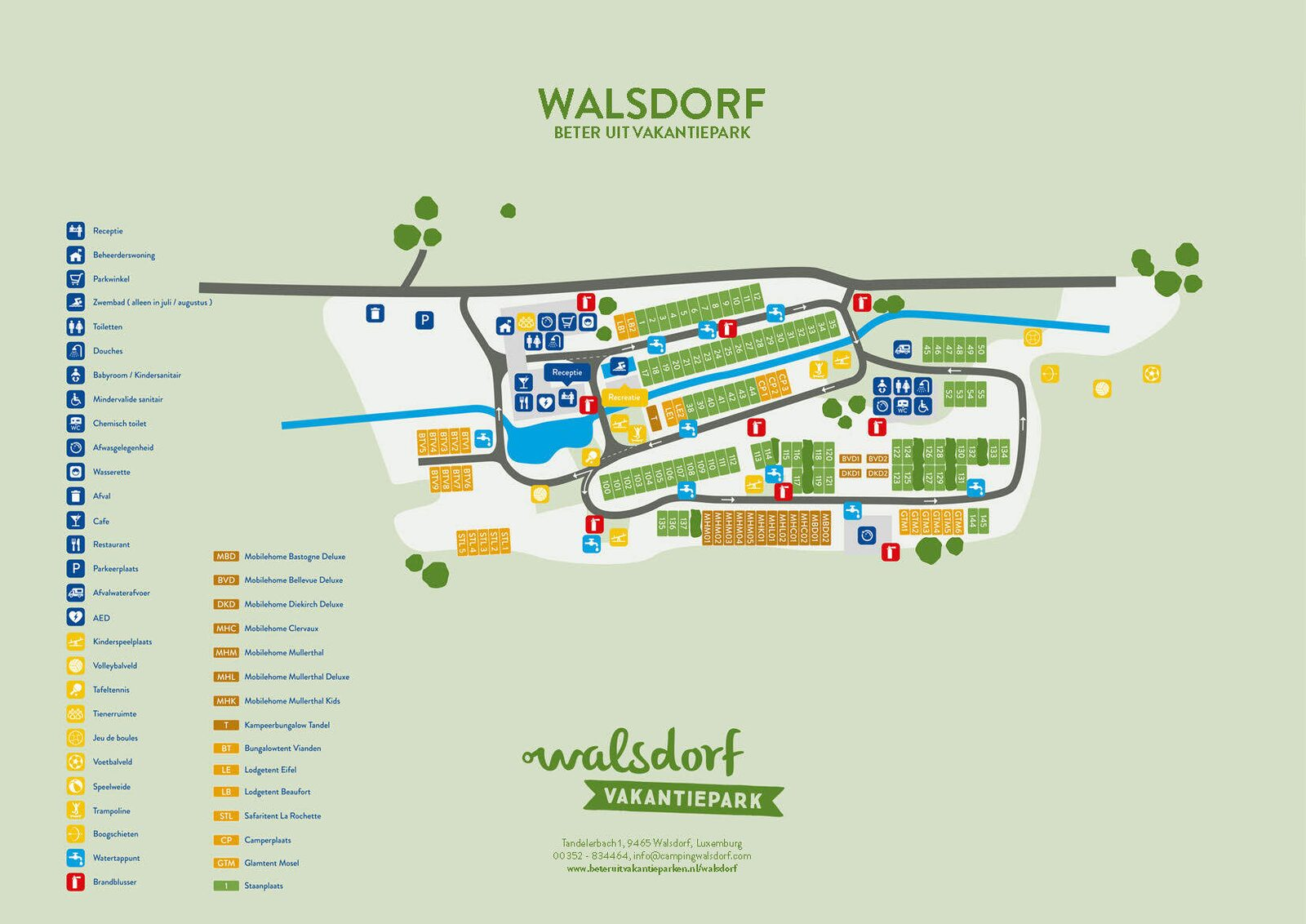Map of Walsdorf