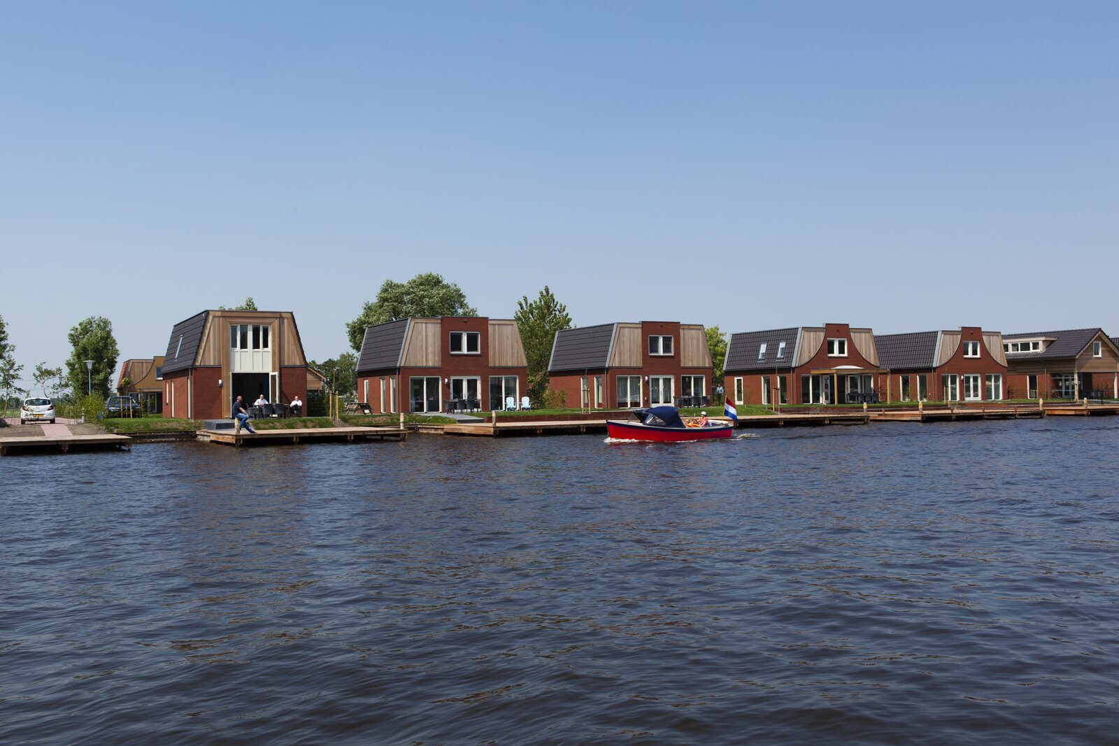 Summer holiday in Friesland