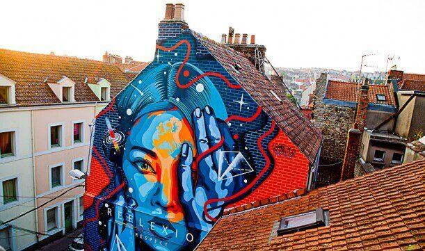 Street art Boulogne-sur-Mer