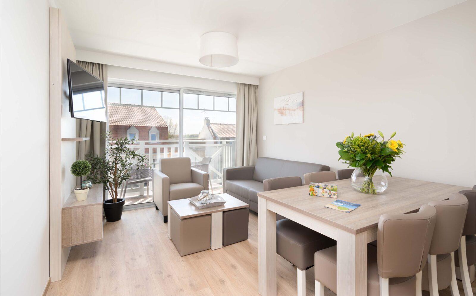 Comfortabele appartementen voor maximaal 6 personen