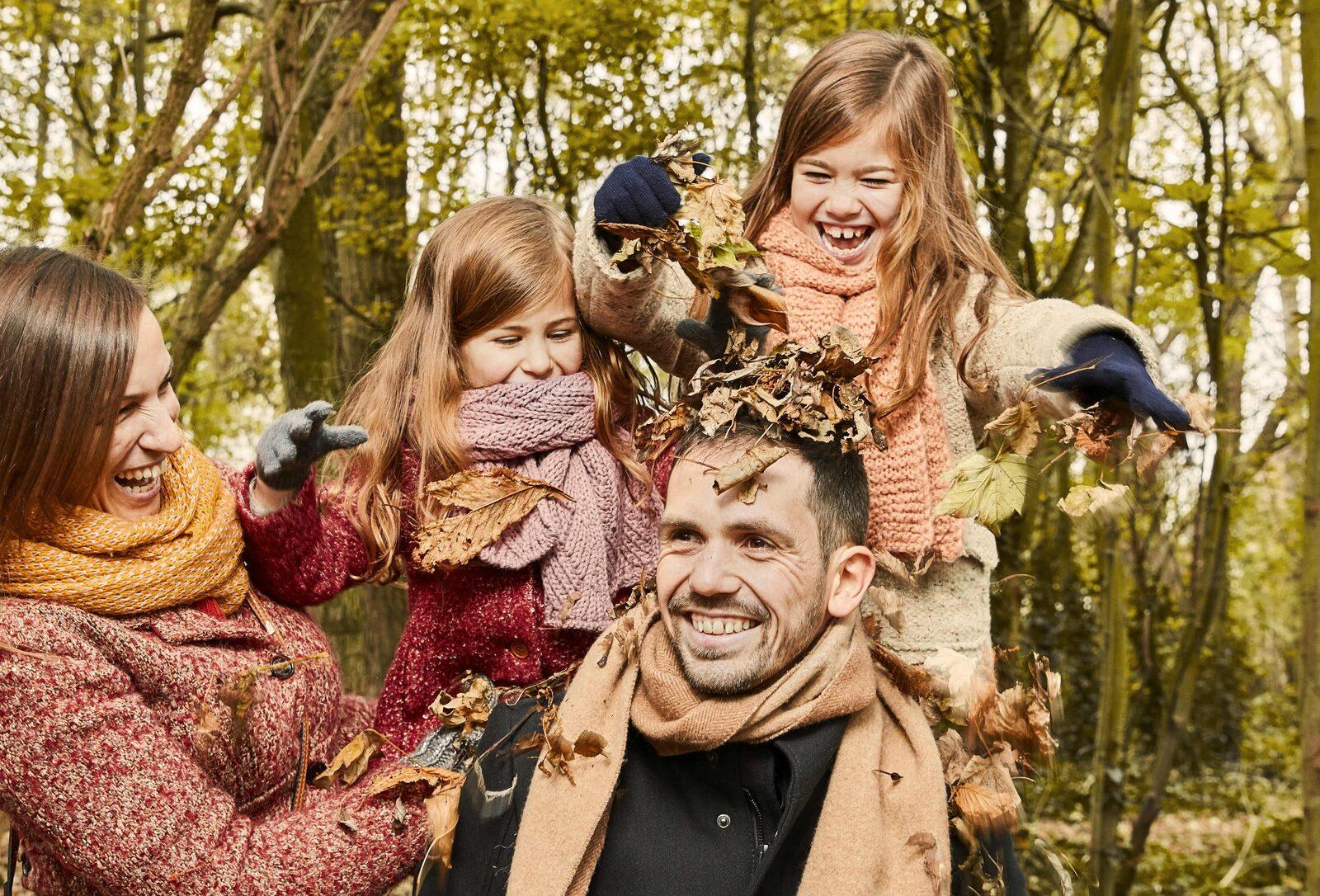 Familypicture Autumn Holidays