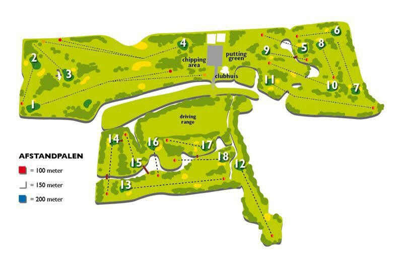 Map Golf Course