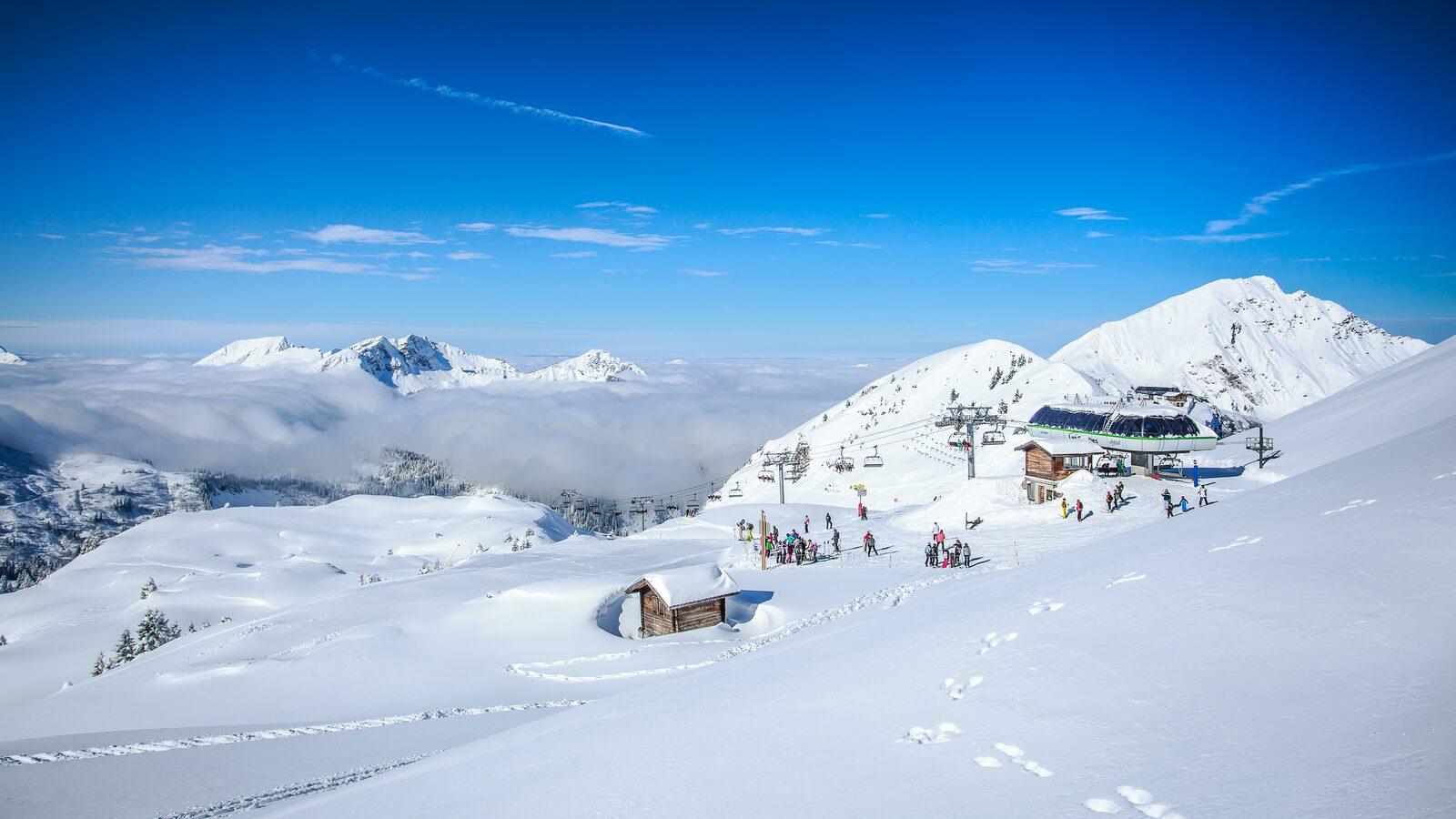 Kent u het meeste gevarieerde skigebied van de Alpen?